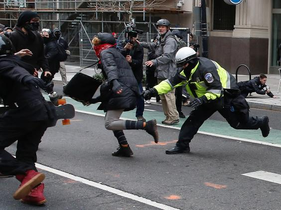 Four more Journalists Charged after Covering Inauguration Riot