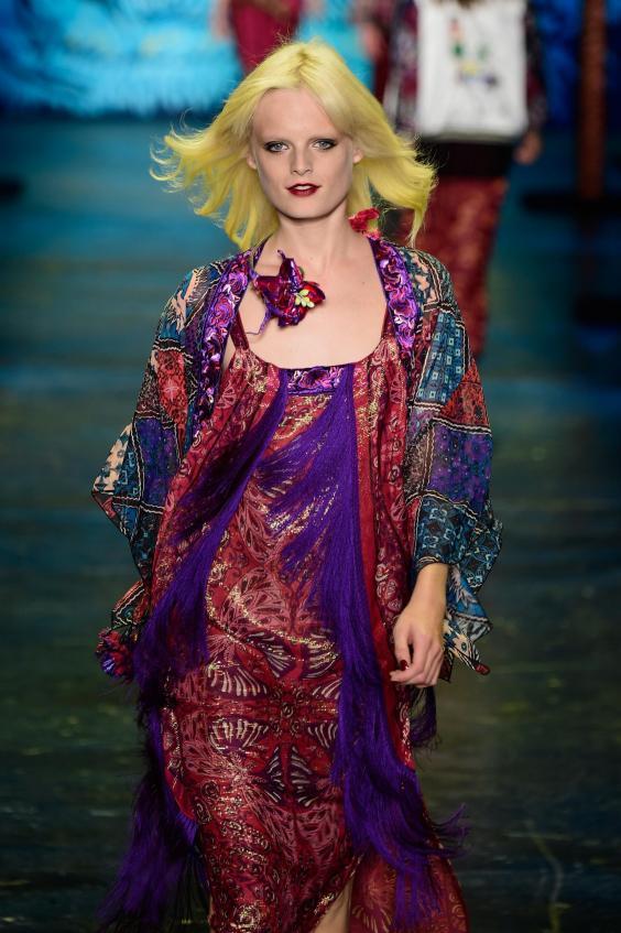Vogue model Hanne Gaby...