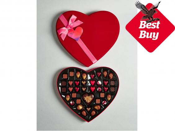 9 best valentine 39 s day chocolate gifts the independent. Black Bedroom Furniture Sets. Home Design Ideas