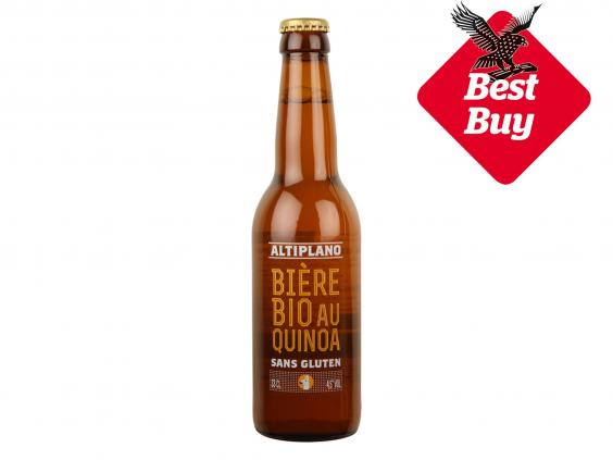 10 best gluten free beers the independent altiplano quinoa beer gluteg negle Images