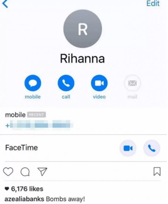 Celebrity phone numbers leaked 2019