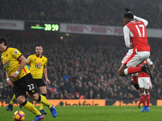 Minnows Watford leave Arsenal's EPL title dream in tatters