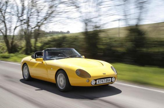 driving the past tvr griffith the independent. Black Bedroom Furniture Sets. Home Design Ideas