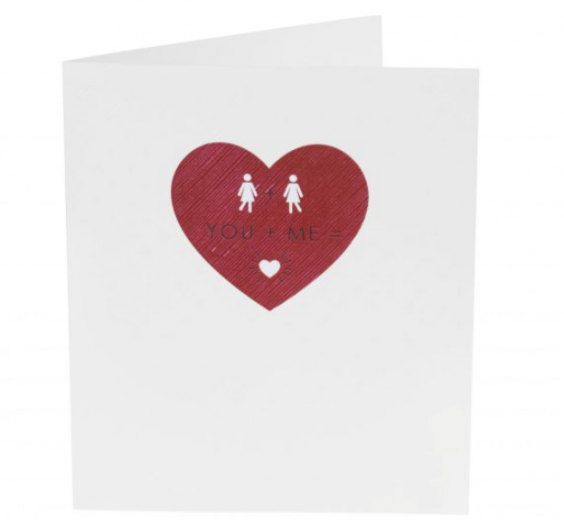 sainsbury 39 s is selling same sex valentine 39 s day cards for. Black Bedroom Furniture Sets. Home Design Ideas