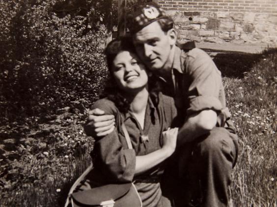 Auschwitz survivor spends 71st Valentine's Day with her rescuer