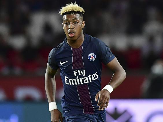The 21-year-old started at centre-back for PSG