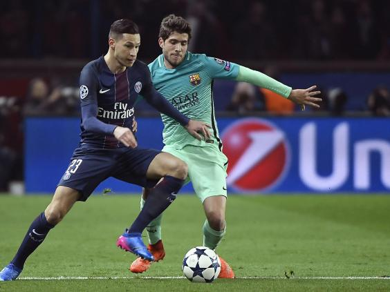 Di Maria's brace helps PSG outplay Barca 4-0 in Champions League