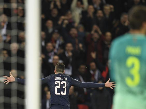 PSG thump Barcelona in Champions League