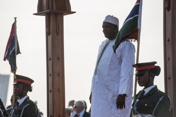 New Gambian president to be inaugurated on home soil