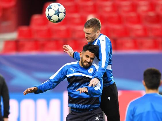 Vardy goal gives Leicester hope in ECL