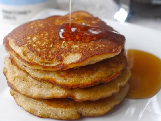 Gluten-free pancakes by Victoria Glass