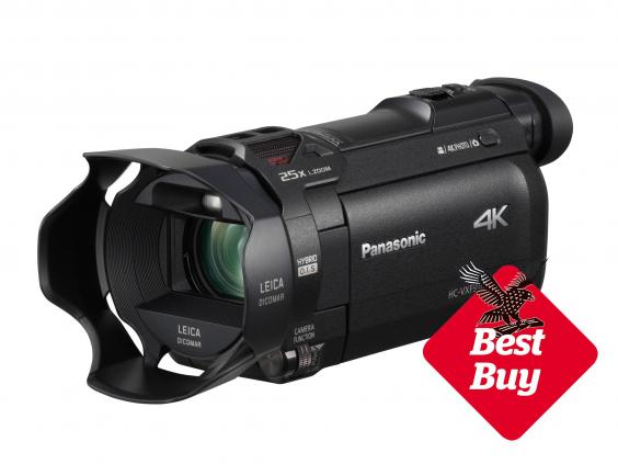 8 best 4k camcorders the independent. Black Bedroom Furniture Sets. Home Design Ideas
