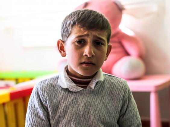 Save the Children report: Syrian children suffering 'toxic stress'