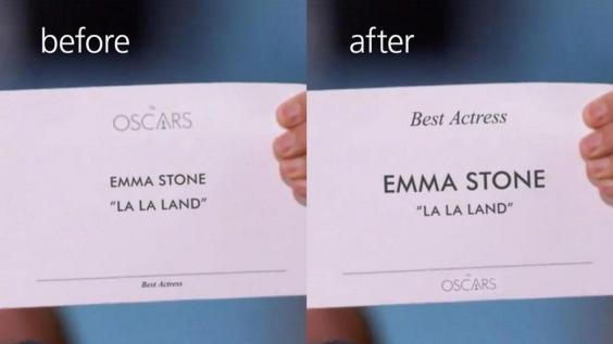 98544226 additionally Why Typography Is To Blame For The Oscars 2017 Best Picture Mix Up A7615791 besides Oscar Gaffe Lalaland Moonlight moreover Moonlight Calvin Klein Underwear as well Academy Awards Moonlight Wins Best Picture After Mixup. on oscar mixup moonlight