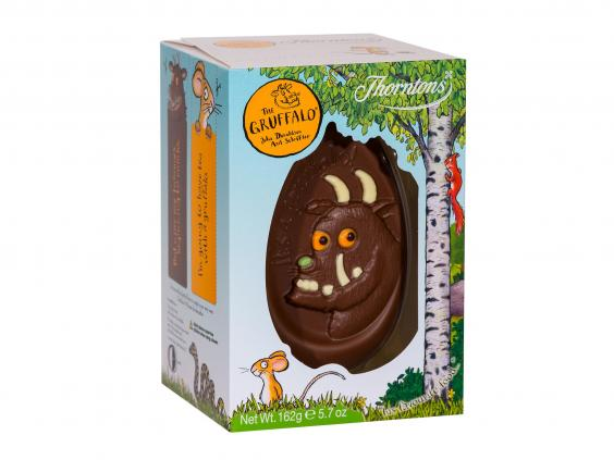 15 best kids easter eggs the independent thorntons the gruffalo easter egg 162g 3 sainsburys negle Images