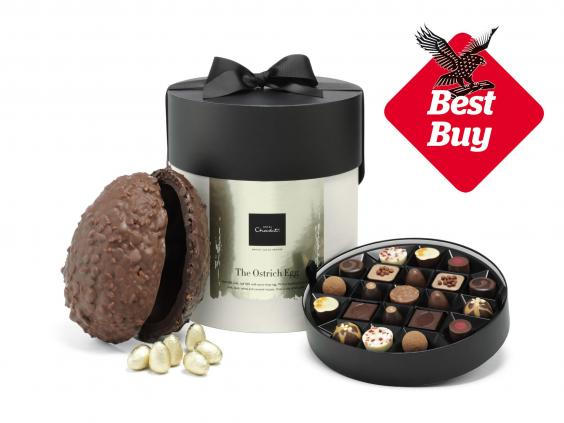 15 best luxury easter eggs the independent hotel chocolat ostrich egg 11kg 75 hotel chocolat negle Gallery