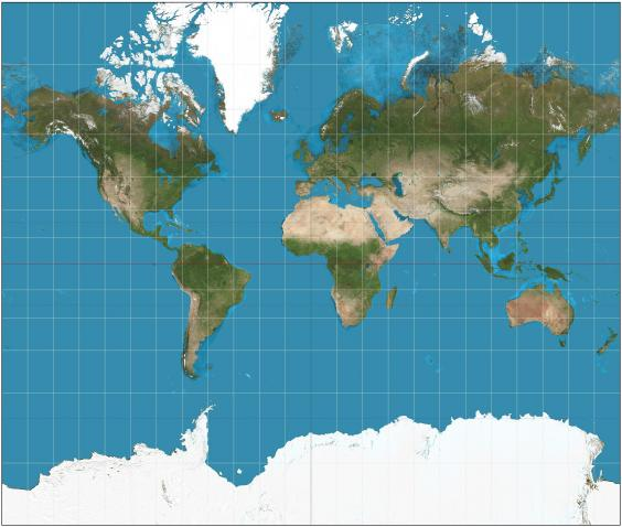 Boston schools replace World maps with more realistic one