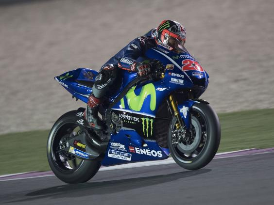 Vinales on pole after Qatar qualifying abandoned