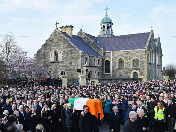 Image result for martin mcguinness funeral