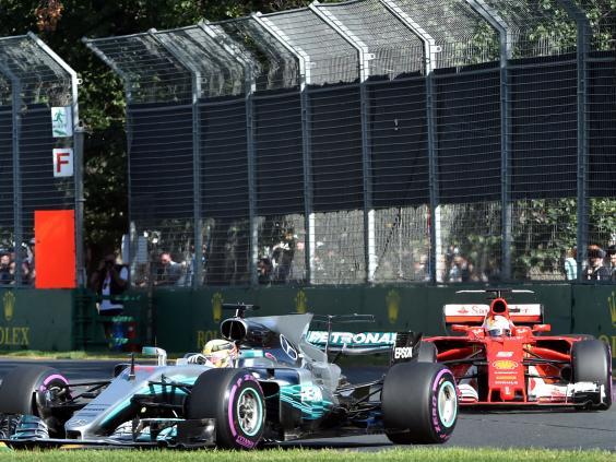 Vettel and Hamilton relishing prospect of title showdown