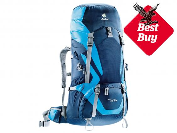 8 best rucksacks for backpackers | The Independent