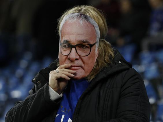 Leicester manager Shakespeare denies argument with Ranieri