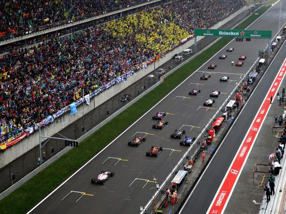 Hamilton's Shanghai love affair continues - Chinese Grand Prix in numbers