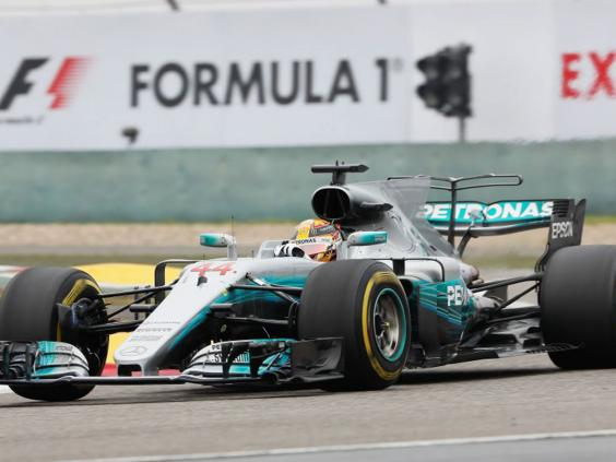 Hamilton coasts to fifth title at Chinese GP