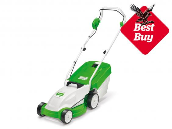 14 best lawnmowers the independent for Best gardening equipment