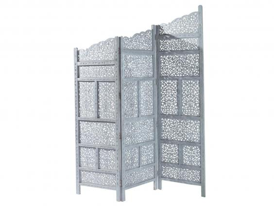 8. Maisons Du Monde Rajasthan Wooden Folding Screen: £240, Maisons Du Monde