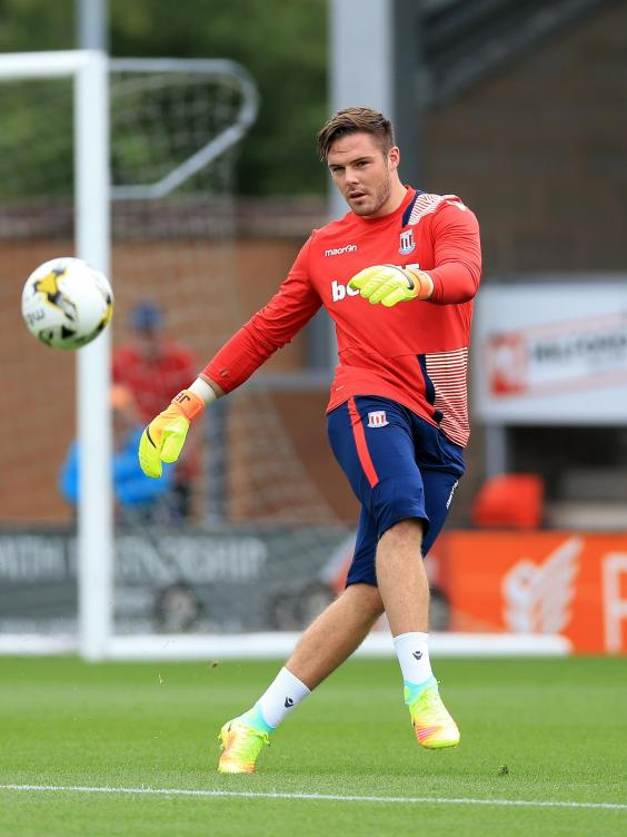 Jack Butland Ready To Make His Premier League Return For Stoke City After Battling Back From