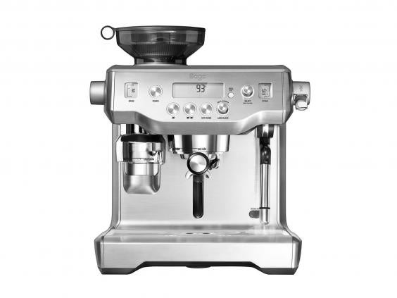give someone a cup ou0027joe made from this manual espresso machine with an attached grinder and theyu0027ll be in coffee heaven in fact the quality is so