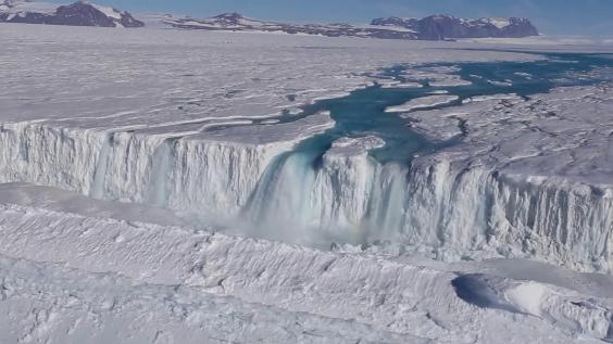 Antarctica Is Covered With Flowing Water, And That Worries Scientists