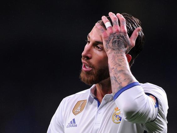 Image result for Sergio Ramos el clasico