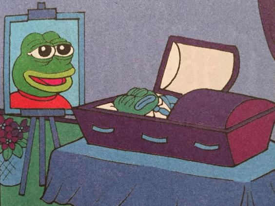 The Death of Pepe the Frog