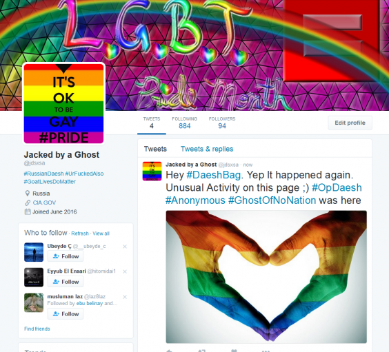 Image result for 200 Isis accounts and fills them with gay porn