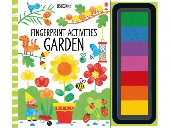 2 Usborne Fingerprint Activities GBP999