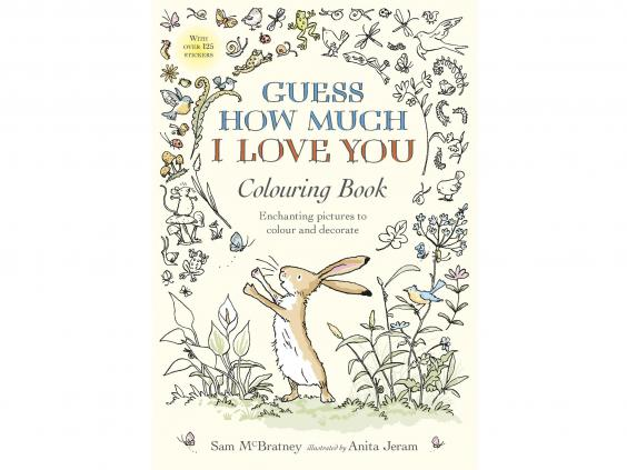 Guess How Much I Love You Colouring Book GBP999 Walker Books