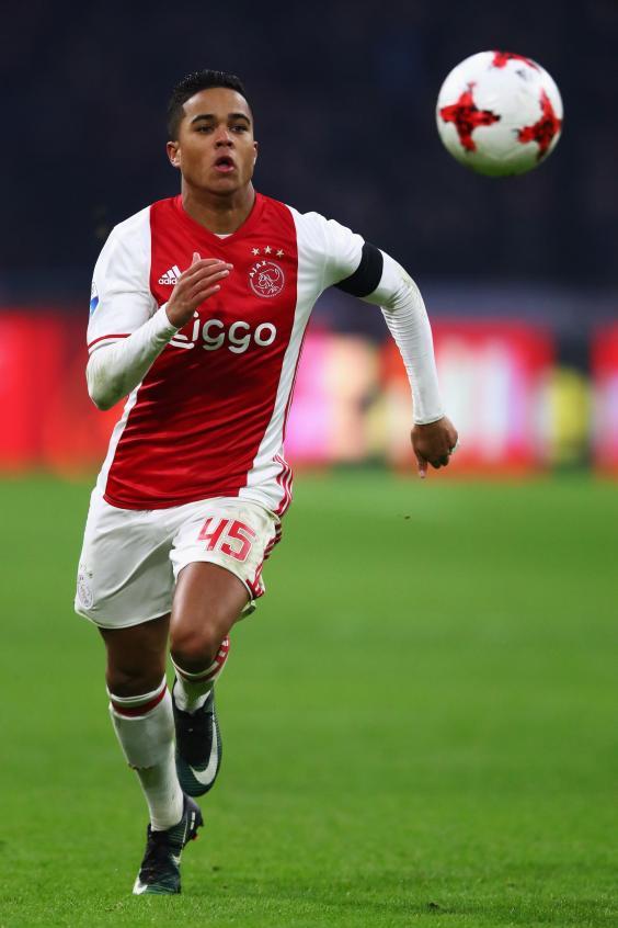 Meet Justin Kluivert: Ajax's gifted teenage winger hoping ...
