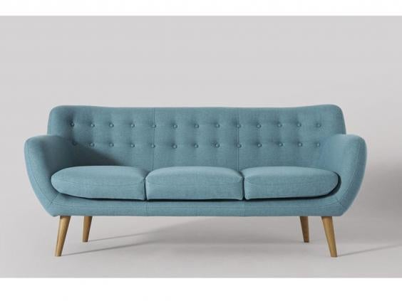Swoon Editions Mimi Three-Seater Sofa: 699, Swoon Editions