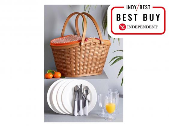 Next Woven Basket : Best picnic baskets the independent