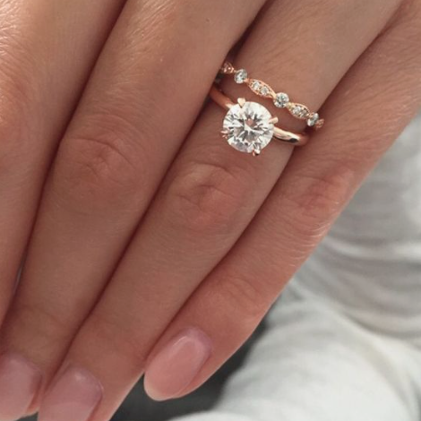 Worlds most popular engagement ring with 103900 Pinterest saves