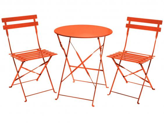garden table and chair sets india. charles bentley bistro set: £69.99, buydirect4u garden table and chair sets india