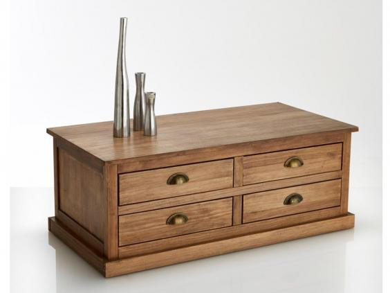 10 best coffee tables the independent for Table ronde la redoute