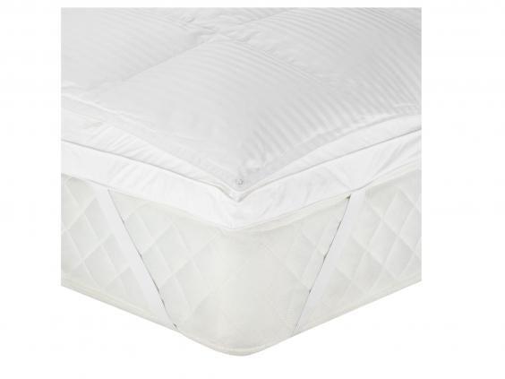 john lewis hungarian goose down mattress topper 250 john lewis