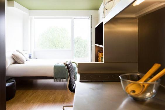 Uno de los apartamentos ofrecidos por Laura-Jayne Cannell