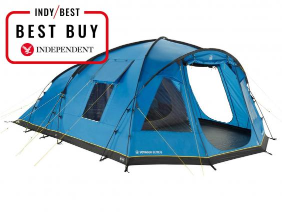 Hi Gear Voyager Elite 6 Family Tent £475 (£275 with Go Outdoors discount card) Go Outdoors  sc 1 st  The Independent & 8 best family tents | The Independent