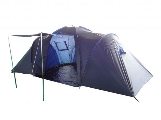 Mountain Warehouse Holiday 6-man Tent £119.99 Mountain Warehouse  sc 1 st  The Independent & 8 best family tents | The Independent