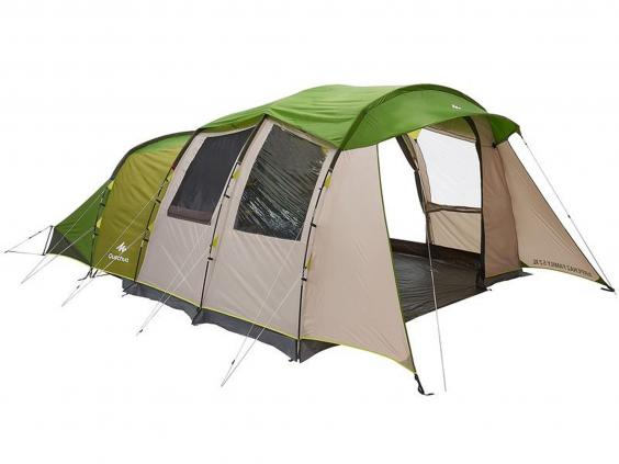 Quechua Arpenaz 5.2 XL Family Tent £299.99 Decathlon  sc 1 st  The Independent : best family tent - memphite.com