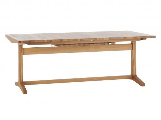 Habitat Parker Extending Table: £995, Habitat